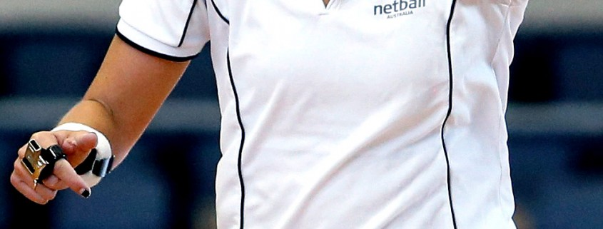 Netball Umpire Blackwood