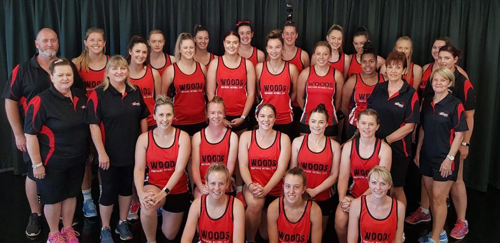 Woods Panthers Netball Club - Blackwood SA